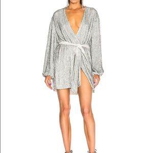 Retro Fete sequin Gabrielle Robe dress